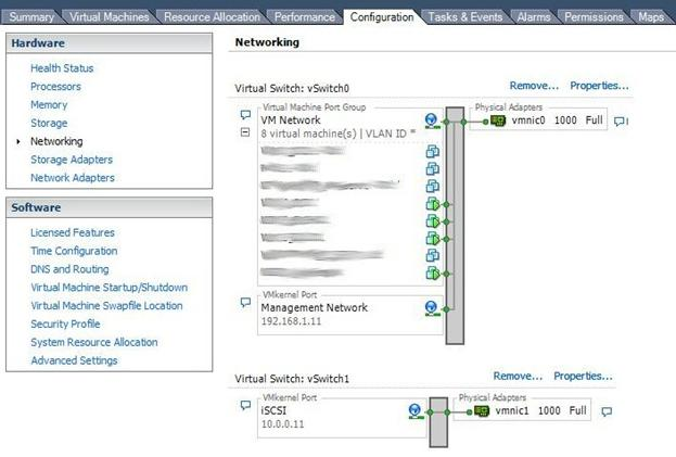 vmware - networking